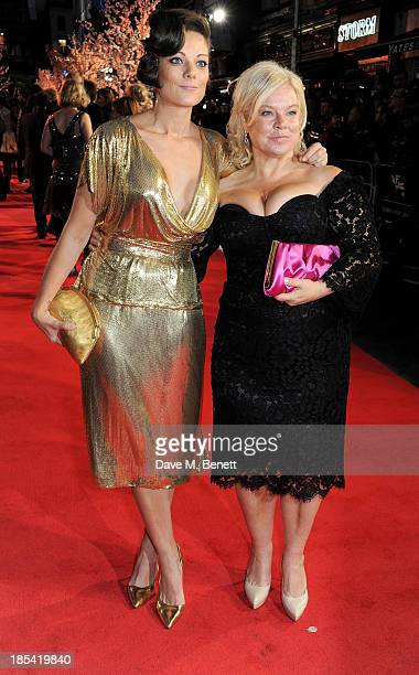 Sarah Owen and Alison Owen attend the Closing Night Gala European Premiere of Saving Mr Banks during the 57th BFI London Film Festival at Odeon...