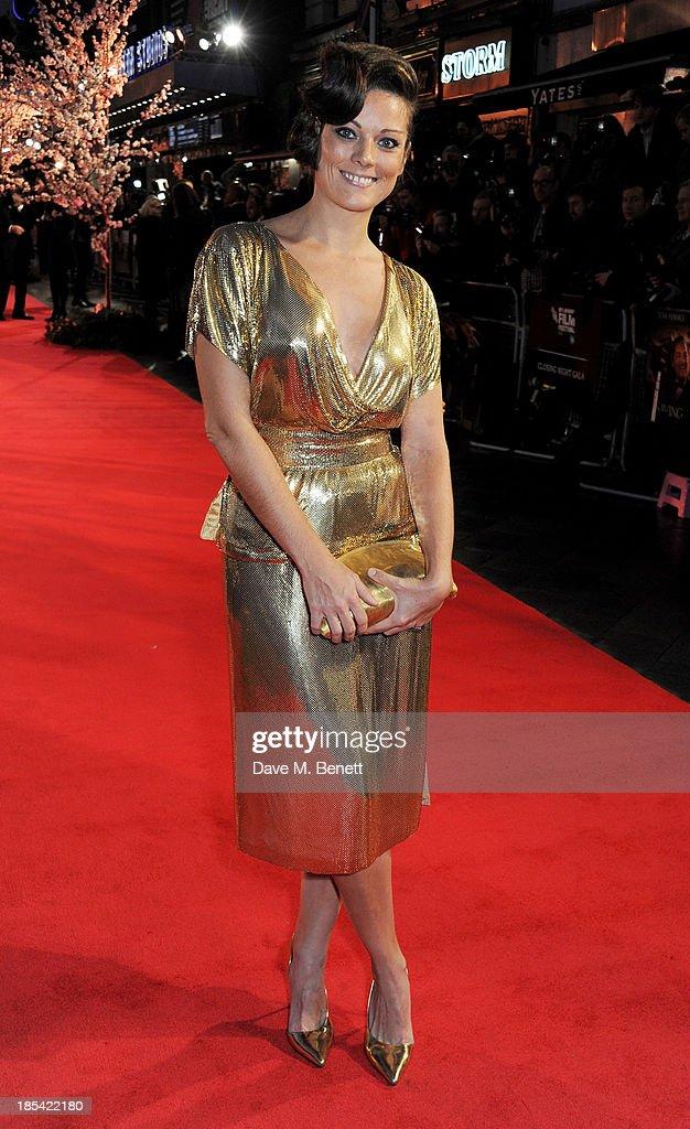 """Saving Mr Banks"" - Closing Night Gala European Premiere - Inside Arrivals: 57th BFI London Film Festival : News Photo"