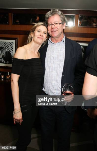 Sarah Parker Bowles and Brendon Fitzgerald attend the launch of new book Uncle Dysfunctional by AA Gill hosted by Esquire EditorinChief Alex Bilmes...