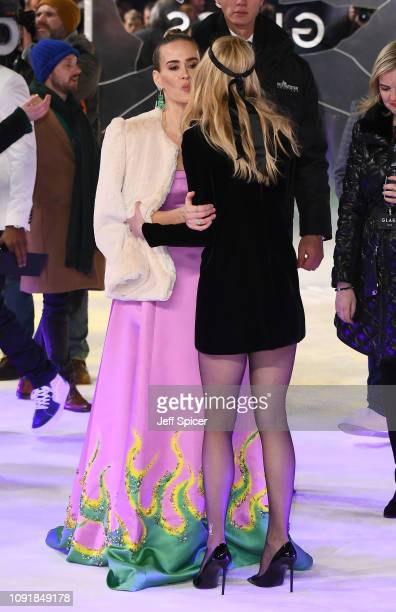 """Sarah Paulson and Anya Taylor-Joy attend the UK Premiere of """"Glass"""" at The Curzon Mayfair on January 09, 2019 in London, England."""