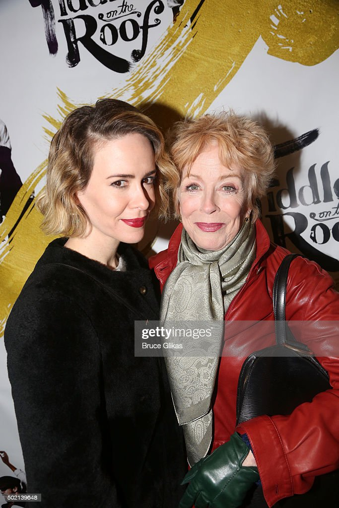 """""""Fiddler On The Roof"""" Broadway Opening Night - Arrivals And Curtain Call : News Photo"""