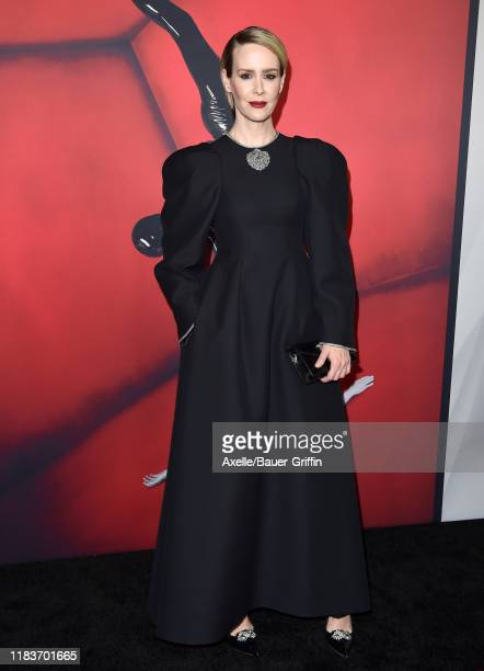 Sarah Paulson attends FX's American Horror Story 100th Episode Celebration at Hollywood Forever on October 26 2019 in Hollywood California