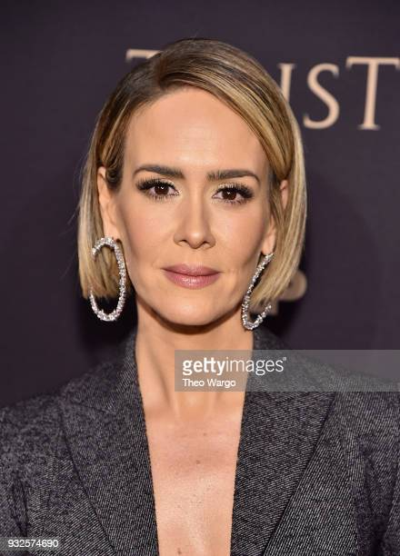 Sarah Paulson attends the 2018 FX Annual AllStar Party at SVA Theater on March 15 2018 in New York City