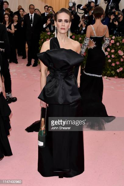 Sarah Paulson attends The 2019 Met Gala Celebrating Camp Notes on Fashion at Metropolitan Museum of Art on May 06 2019 in New York City