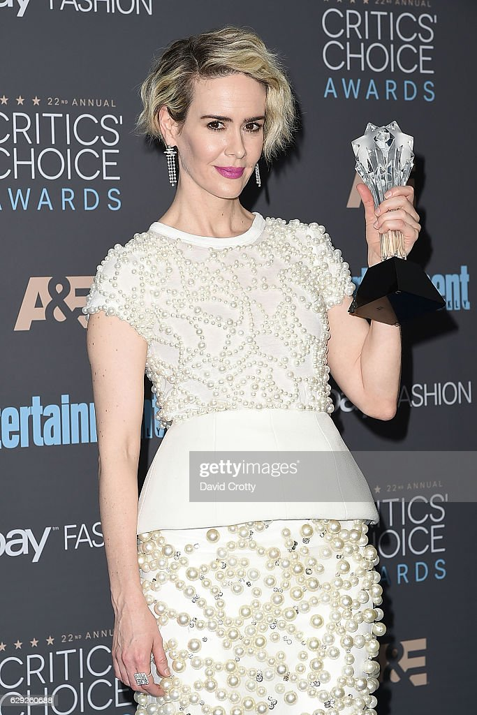 22nd Annual Critics' Choice Awards - Arrivals : Nachrichtenfoto