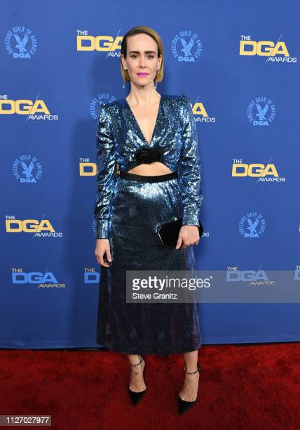 Sarah Paulson attends the 71st Annual Directors Guild Of America Awards at The Ray Dolby Ballroom at Hollywood Highland Center on February 02 2019 in...