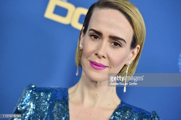 Sarah Paulson attends the 71st Annual Directors Guild of America Awards at The Ray Dolby Ballroom at Hollywood & Highland Center on February 02, 2019...