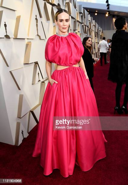 Sarah Paulson attends the 91st Annual Academy Awards at Hollywood and Highland on February 24 2019 in Hollywood California