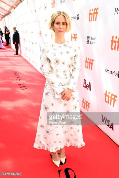 Sarah Paulson attends the Abominable premiere during the 2019 Toronto International Film Festival at Roy Thomson Hall on September 07 2019 in Toronto...