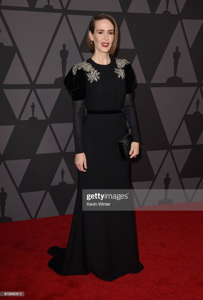 Sarah Paulson attends the Academy of Motion Picture Arts and Sciences' 9th Annual Governors Awards at The Ray Dolby Ballroom at Hollywood & Highland Center on November 11, 2017 in Hollywood, California.