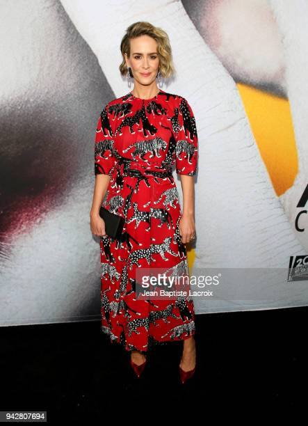 Sarah Paulson attends the American Horror Story Cult For Your Consideration Event at The WGA Theater on April 6 2018 in Beverly Hills California