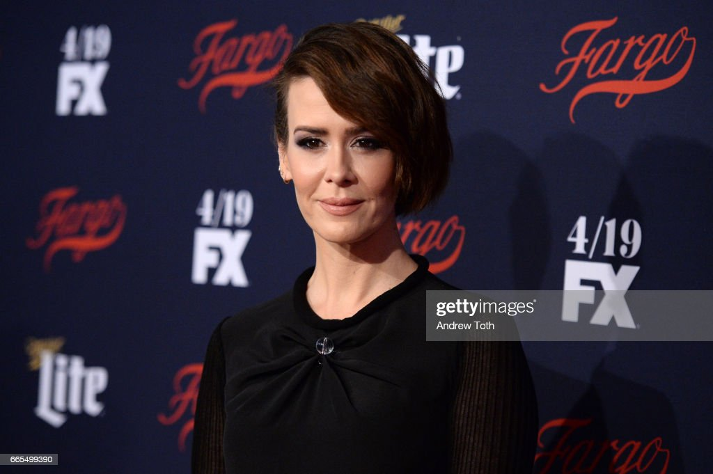 Sarah Paulson attends the FX Network 2017 All-Star Upfront at SVA Theater on April 6, 2017 in New York City.