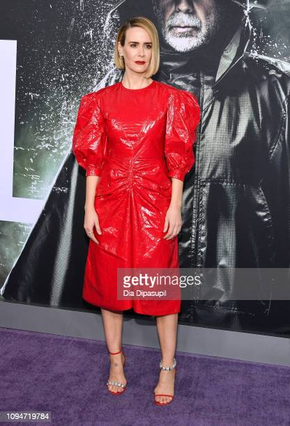 Sarah Paulson attends the 'Glass' NY Premiere at SVA Theater on January 15 2019 in New York City