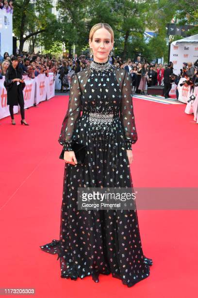 """Sarah Paulson attends """"The Goldfinch"""" premiere during the 2019 Toronto International Film Festival at Roy Thomson Hall on September 08, 2019 in..."""
