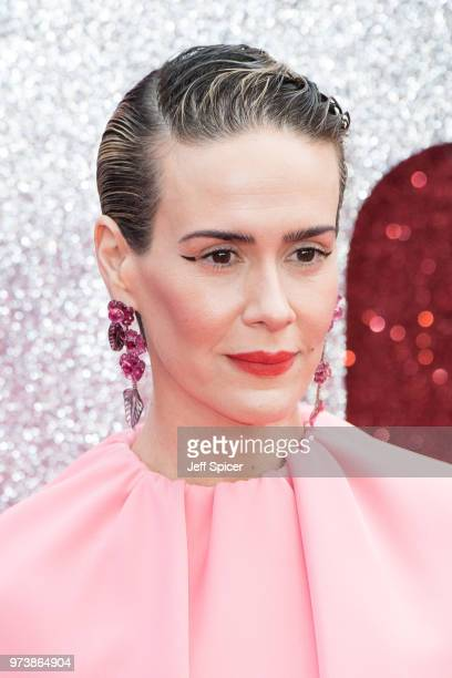 Sarah Paulson attends the 'Ocean's 8' UK Premiere held at Cineworld Leicester Square on June 13 2018 in London England