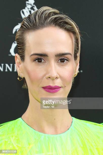 Sarah Paulson attends the world premiere of 'Ocean's 8' at Alice Tully Hall at Lincoln Center on June 5 2018 in New York City