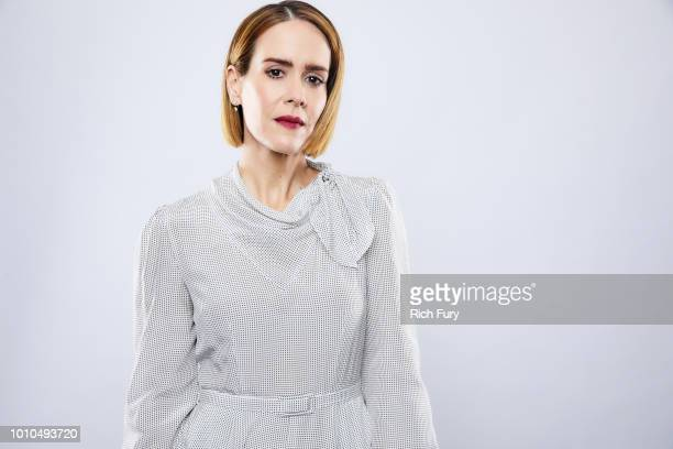 Sarah Paulson of FX's 'American Horror Story Apocalypse' poses for a portrait during the 2018 Summer Television Critics Association Press Tour at The...