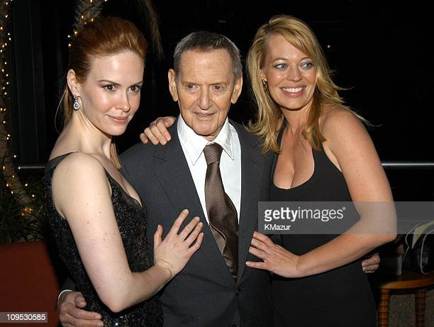 Sarah Paulson Tony Randall and Jeri Ryan during 2003 Tribeca Film Festival Down With Love After Party at The Winter Garden in the World Financial...