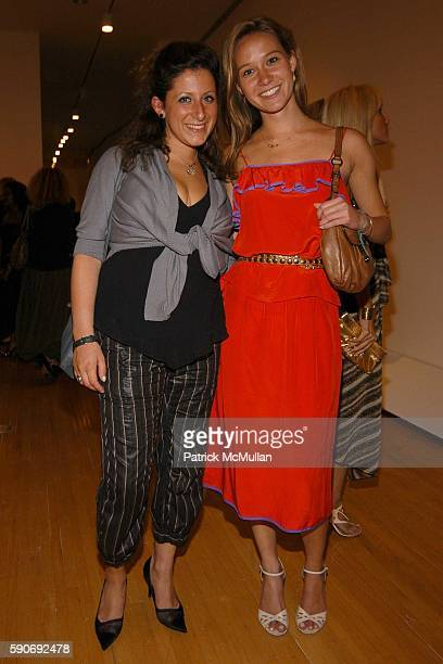 Sarah Pearlman and Brittain Youngblood attend Basquiat Exhibition Preview at MOCA on July 15 2005 in Los Angeles CA