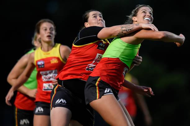 AUS: Gold Coast Suns AFLW Training Session