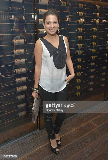 Sarah Pollack Boyd attends GenArt's 14th Annual Fresh Faces In Fashion Intimate Dinner at Andaz on October 15 2012 in West Hollywood California