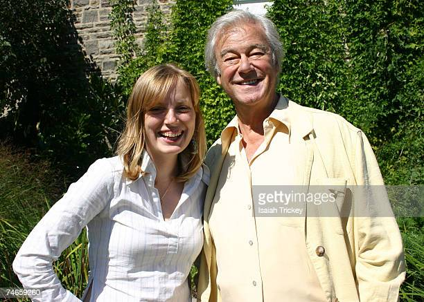 Sarah Polley and Gordon Pinsent at the Portrait Studio in Toronto Canada