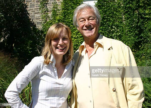 Sarah Polley and Gordon Pinsent during 31st Annual Toronto International Film Festival Canadian Film Centre BBQ at Portrait Studio in Toronto Ontario...