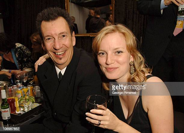 Sarah Polley and guest during 31st Annual Toronto International Film Festival 'Away From Her' Party at E Entertainment Lounge in Toronto Ontario...