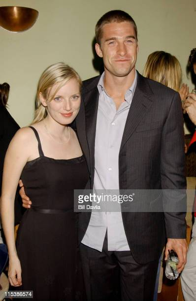 Sarah Polley and Scott Speedman during New York Premiere of 'My Life Without Me' After Party at Pianos Bar on Ludlow and Stanton Street in New York...