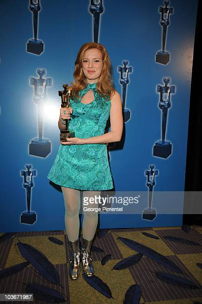 Sarah Polley attends the 2008 Annual Genie Awards at the Metro Toronto Convention Centre on March 3, 2008 in Toronto, Canada.