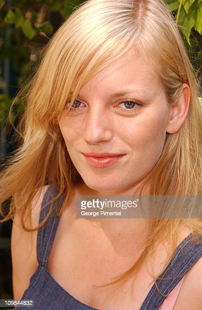 Sarah Polley during 2003 Toronto International Film Festival Sarah Polley Portraits by George Pimentel at InterContinental Hotel in Toronto Ontario...