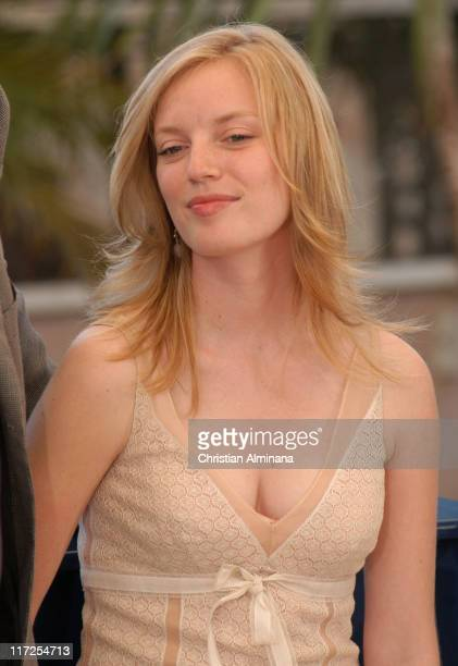 Sarah Polley during 2005 Cannes Film Festival Don't Come Knocking Photocall at Terrasse Riviera in Cannes France