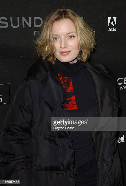 Sarah Polley during 2006 Sundance Film Festival 'Don't Come Knocking' Premiere at 345 Main Street in Park City Utah United States
