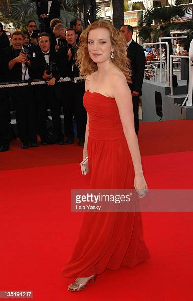Sarah Polley during 2007 Cannes Film Festival 'Le Scaphandre et le Papillon' Premiere at Palais des Festival in Cannes France