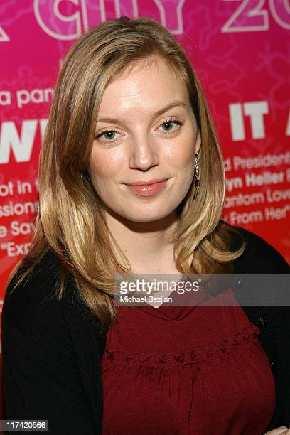 Sarah Polley during 2007 Sundance Film Festival Women in Film Panel Discussion at Filmaker Lodge in Park City Utah United States