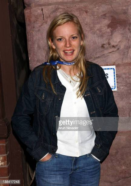 Sarah Polley during 30th Telluride Film Festival Sneak Preview of 'My Life Without Me' Arrivals at The Nugget in Telluride Colorado United States