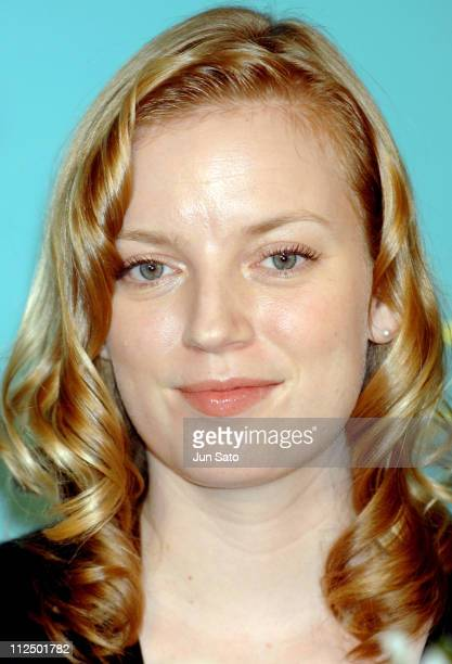 Sarah Polley during 'The Secret Life of Words' Tokyo Press Conference with Sarah Polley at Hibiya Matsumotoro in Tokyo Japan