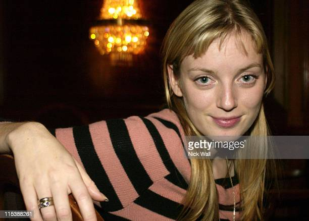 Sarah Polley during The Times BFI London Film Festival 2003 'My Life Without Me ' Screening at Odeon West End in London Great Britain