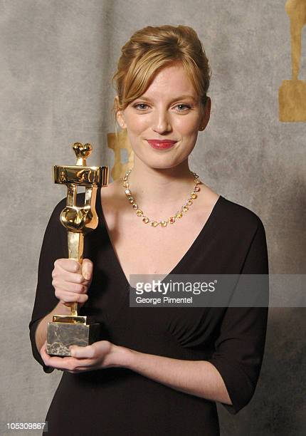 Sarah Polley winner of Best Actress for 'My Life Without Me'