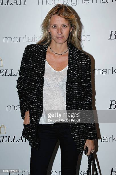 Sarah Poniatowski Lavoine attends the Buccellati Blossom Butterfly and Daisy new collection presentation with the 4th generation of the Buccellati...
