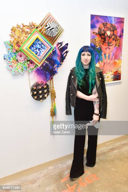 Sarah Potter attends Spring Break Art Fair 2017 Vernissage at 4 Times Square on February 28 2017 in New York City