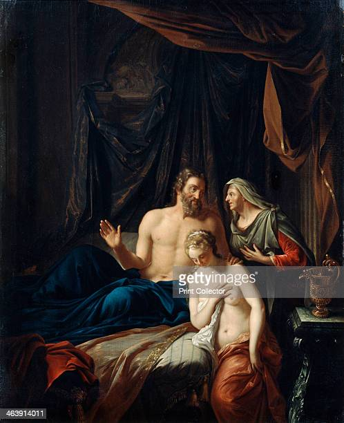 'Sarah Presenting Hagar to Abraham' late 17th/early 18th century From the Musee du Louvre Paris France