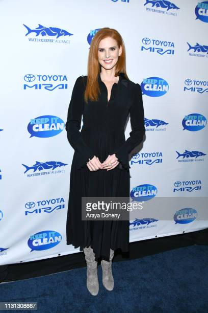 Sarah Rafferty at 5th Annual Keep It Clean Live Comedy Benefit For Waterkeeper Alliance at Largo At The Coronet on February 21 2019 in Los Angeles...