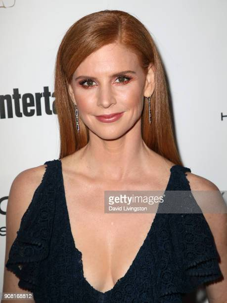 Sarah Rafferty attends Entertainment Weekly's Screen Actors Guild Award Nominees Celebration sponsored by Maybelline New York at Chateau Marmont on...