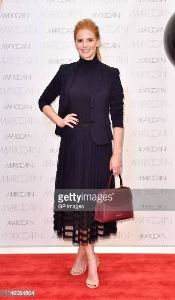 Sarah Rafferty attends Marc Cain's True Bag Launch at Toronto Eaton Centre on April 27 2019 in Toronto Canada