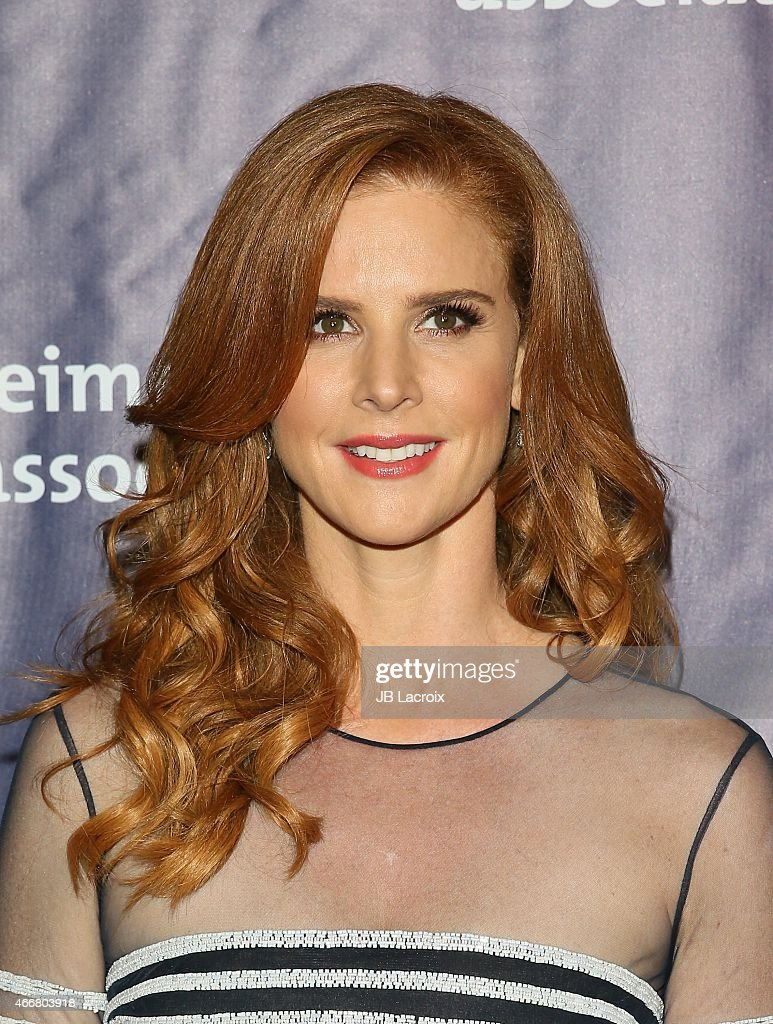Sarah Rafferty attends the 23rd Annual 'A Night At Sardi's' To Benefit The Alzheimer's Association at The Beverly Hilton Hotel on March 18, 2015 in Beverly Hills, California.