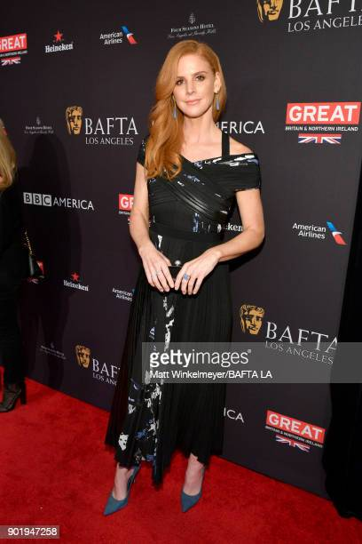Sarah Rafferty attends The BAFTA Los Angeles Tea Party at Four Seasons Hotel Los Angeles at Beverly Hills on January 6 2018 in Los Angeles California