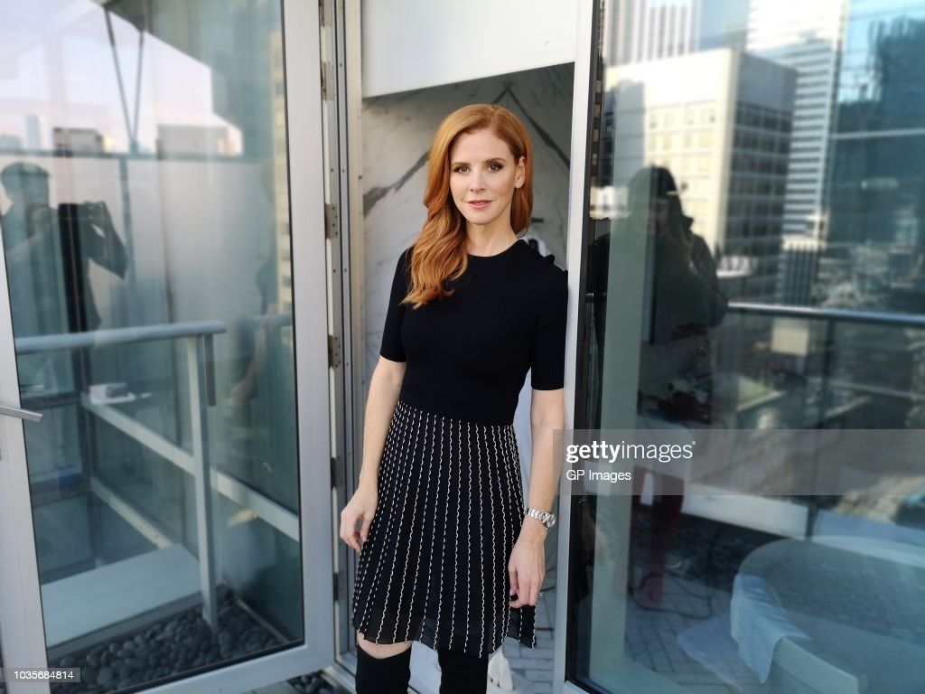 Sarah Rafferty attends the TIFF Closing Night Cocktail Presented by Marc Cain on September 15, 2018 in Toronto, Canada.