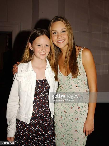 Sarah Ramos and Amanda Bynes