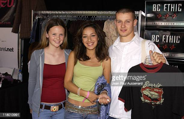 Sarah Ramos Vanessa Lengies and Will Estes at BC Ethic Photo by JeanPaul Aussenard/WireImage for Silver Spoon